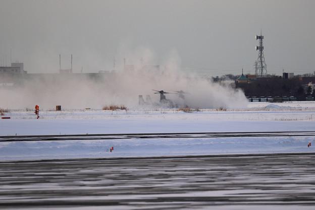 Photos: MV-22B 演習終了し帰投 (1)