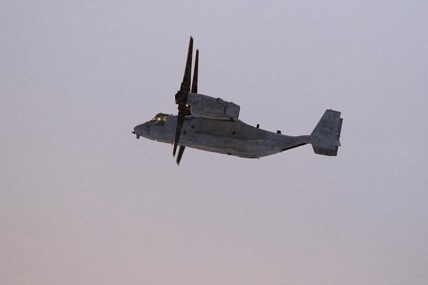 MV-22B 演習終了し帰投 (3)