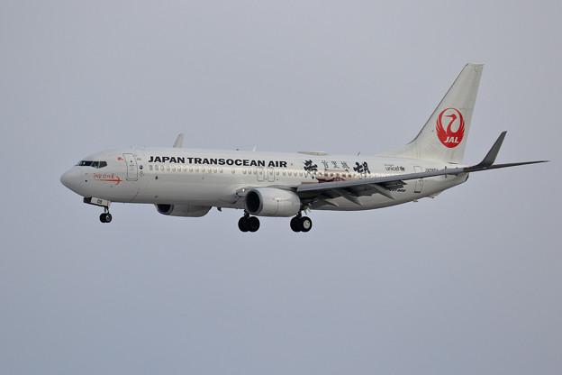 Boeing737 JTA JA08RK 飛来(1)