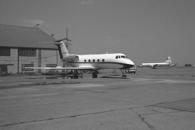 Gulfstream II N179AR HND 1977.05(1)
