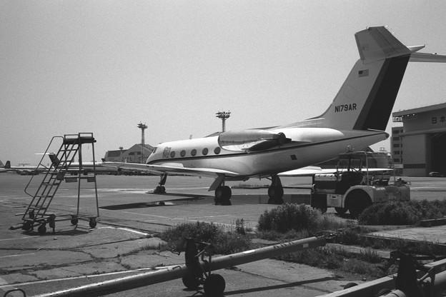 Gulfstream II N179AR HND 1977.05(2)