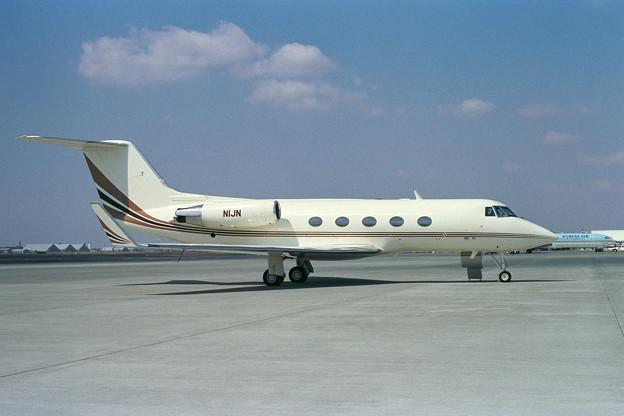 Gulfstream IIB N1JN CTS 1990.04