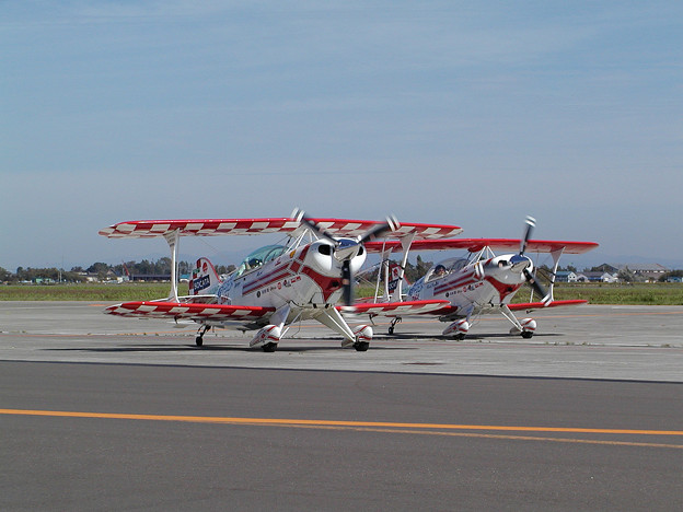 Pitts S-2B & S-2C JA11AR+JA22AR OKD 2004.09(1)
