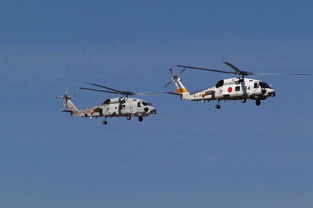 SH-60J 8234+8301 大湊航空隊 OKD 2004.09