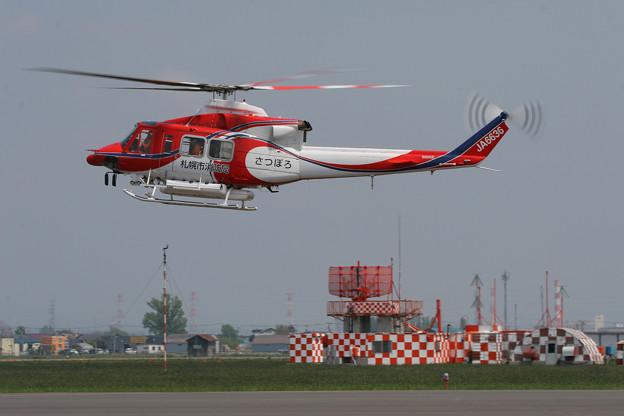Bell 412SP JA6636 さつぽろ OKD 2008.05(1)