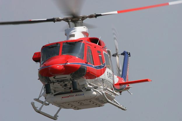 Bell 412SP JA6636 さっぽろ OKD 2008.05(2)