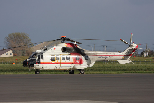 Aerospatiale AS332L JA9612 OKD 2009.11