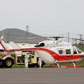 Photos: Kawasaki BK117B-2 JA9926 とわだ OKD 2009.08