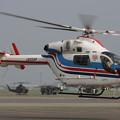 MD900 JA02AP はやどり 朝日新聞 OKD 2008.07(1)