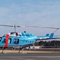Photos: Bell 206L-3 JA6100 かささぎ KOJ 2004.12