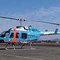 Photos: Bell 206L-3 JA9849 ひむか KOJ 2004.12