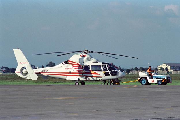 Aerospatiale SA365N JA9578 OKD 1988.09