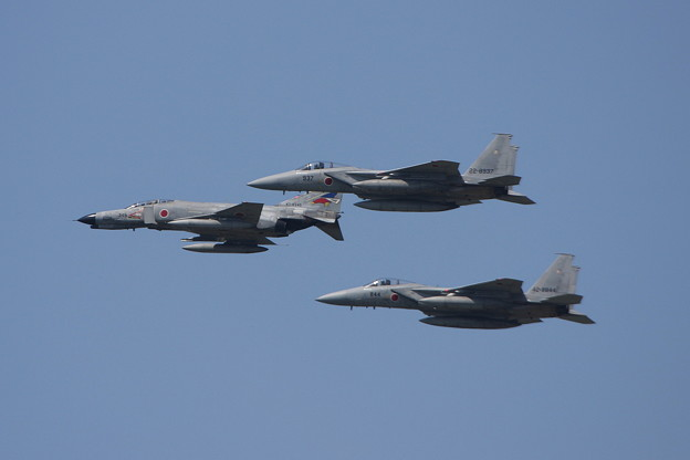 F-4EJ 8345 302sq CTS Last Flight 2011.08