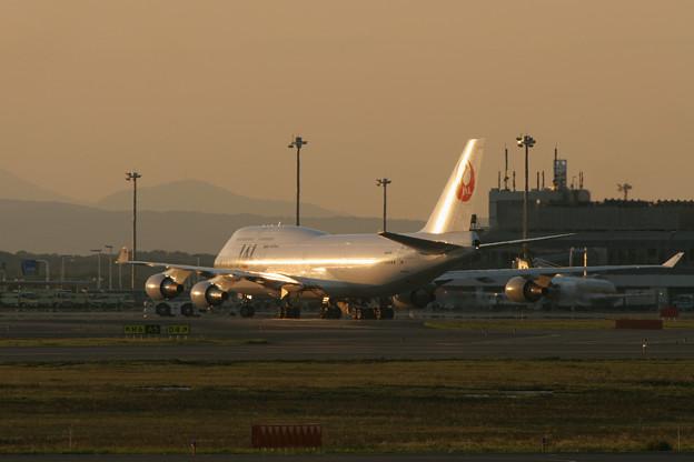 B747-446 JA8922 JAL CTS  2005.09