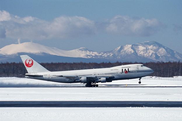 B747-146B JA8164 JAL CTS 2001