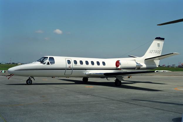 Cessna560 Citation V N2746E OKD 1990.09