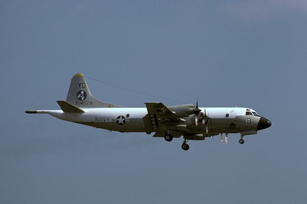 Photos: P-3B VP-4 YD-9 154574 MSJ 1982