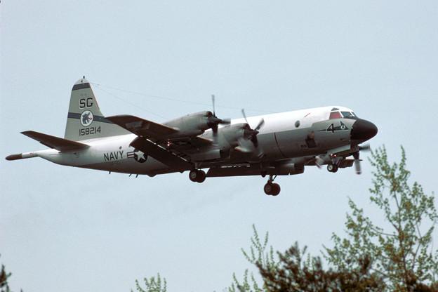 P-3C VP-50 SG-4 158214 MSJ 1984.05