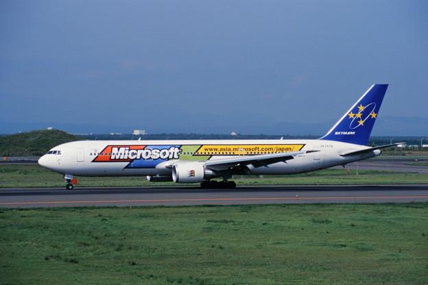 B767-300 JA767B SKY 1999.04
