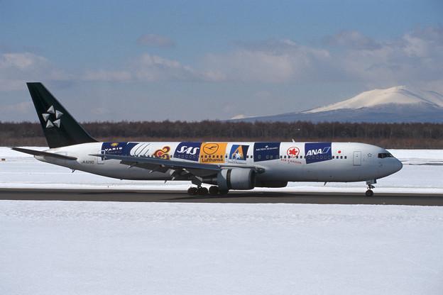 B767-300 JA8290 ANA StarAlliance 2000.01