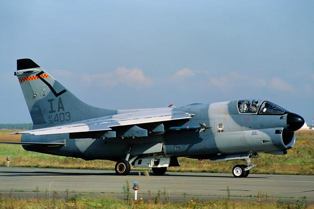 A-7D 75-0403 IA ANG CTS 1991.10