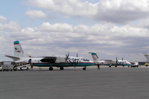 Antonov An-24とDHC8 SAT CTS 2005.05(2)
