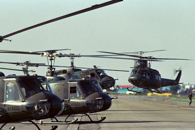 UH-1H 41621+41605 OKD 1988.05