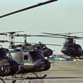 Photos: UH-1H 41621+41605 OKD 1988.05