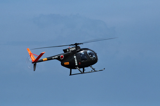 OH-6J 31026 第9飛行隊 1981.10