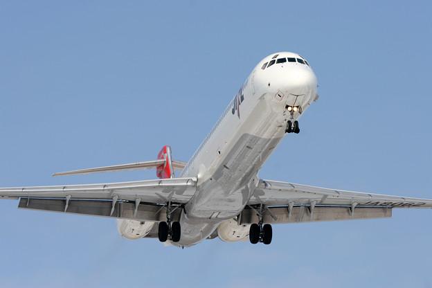 MD-90 JA8062 JAL CTS 2006.02