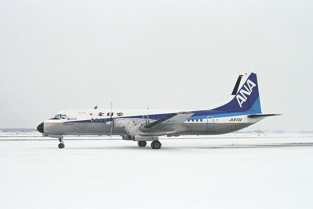 YS-11A JA8722 全日空 ANA CTS 1990(2)