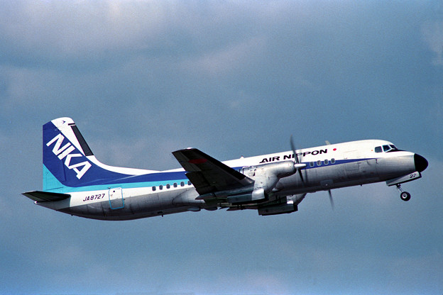 YS-11A JA8727 NKA OKD 1988