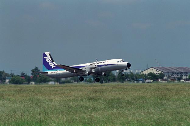 YS-11A JA8744 ANK OKD 1990.09