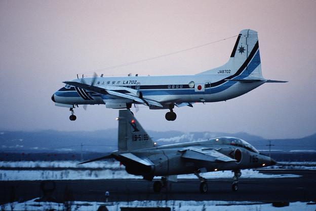 Photos: YS-11A JA8702 JCG CTS 1990.01
