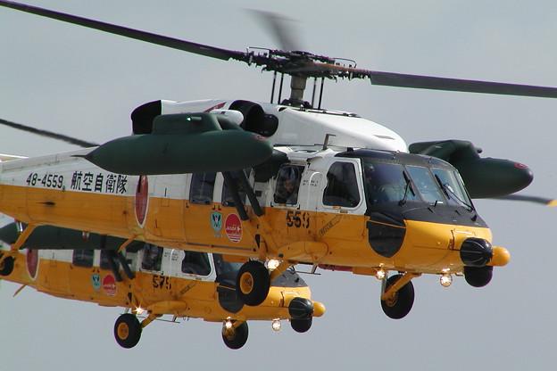 UH-60J 展示飛行 4559+4575 CTS 2004.0808(2)