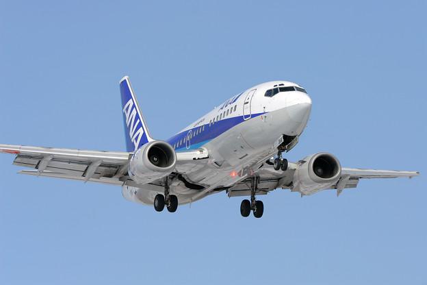 Photos: B737-500 JA304K ANA/ANK CTS 2006.02