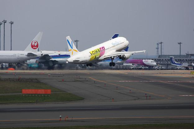 A320 JA8388 VanillaAir+LOHACO 2014.05