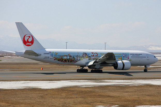 B777-200 JA8985 JAL HappinessExpress 2013.04