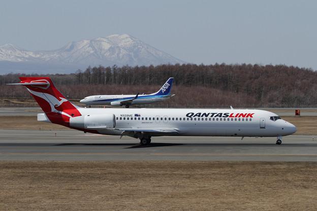 Boeing 717 N928ME(VH-YQW) QantasLink 2014.04
