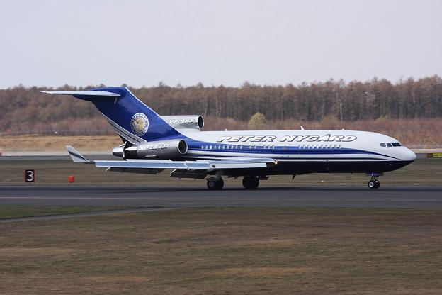 B727-17 VP-BPZ landing 2014.05