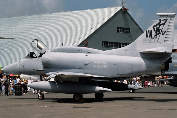 A-4M 158160 WL-11 VMA-311 CTS 1986.08