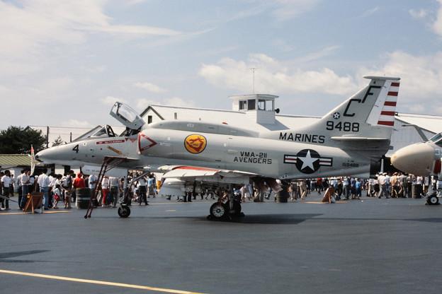 A-4M 159488 CF-4 VMA-211 MSJ 1979.09
