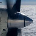 SAAB 340B HAC 雲上をゆく (1)