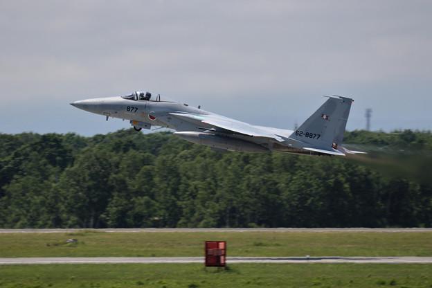 F-15J 62-8877 203sq takeoff