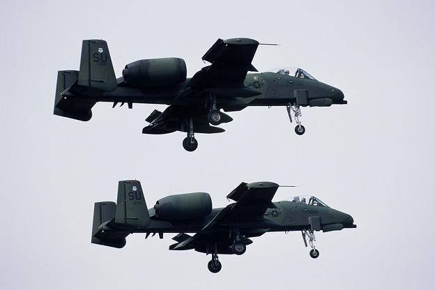 A-10A SU 80-0239+80-243 1984.09