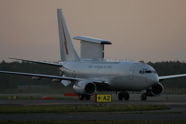 E-7A A30-002 RAAF (N358BJ Boeing) RJCC 2005.10(1)