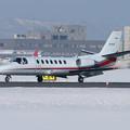 Cessna 560 JA02AA 朝日航洋 CTS 2008.01