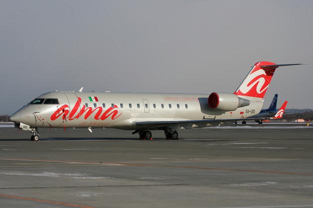 CRJ-200 XA-UIO ALMA de Mexico CTS 2008.01(1)