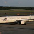 Photos: B777-300 JA752J JAL温暖化防止 2007.09