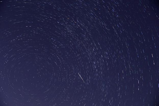 ペルセウス座流星とカシオペア座 (2)